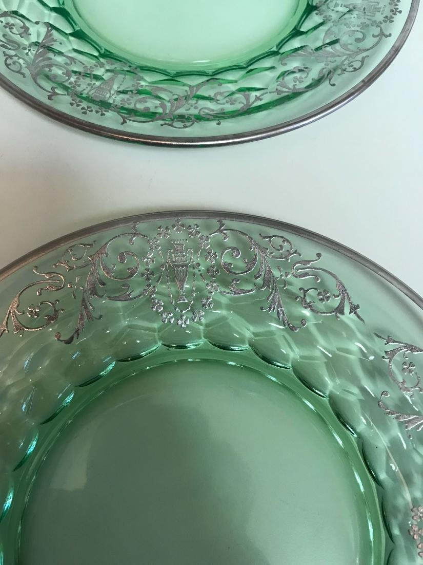 STERLING OVERLAY GLASS PLATES - 3