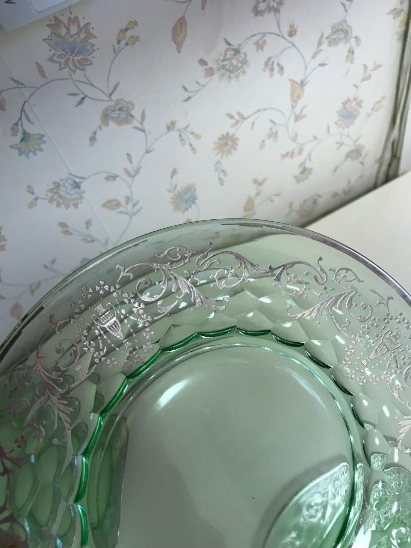 STERLING OVERLAY GLASS PLATES - 4