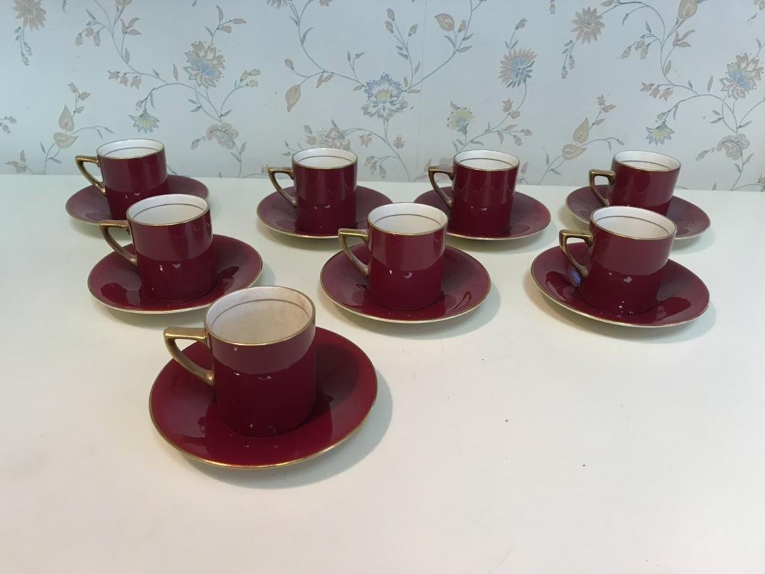 ENGLISH AMBASSADOR WARE FONDEVILLE TEA SERVICE - 2