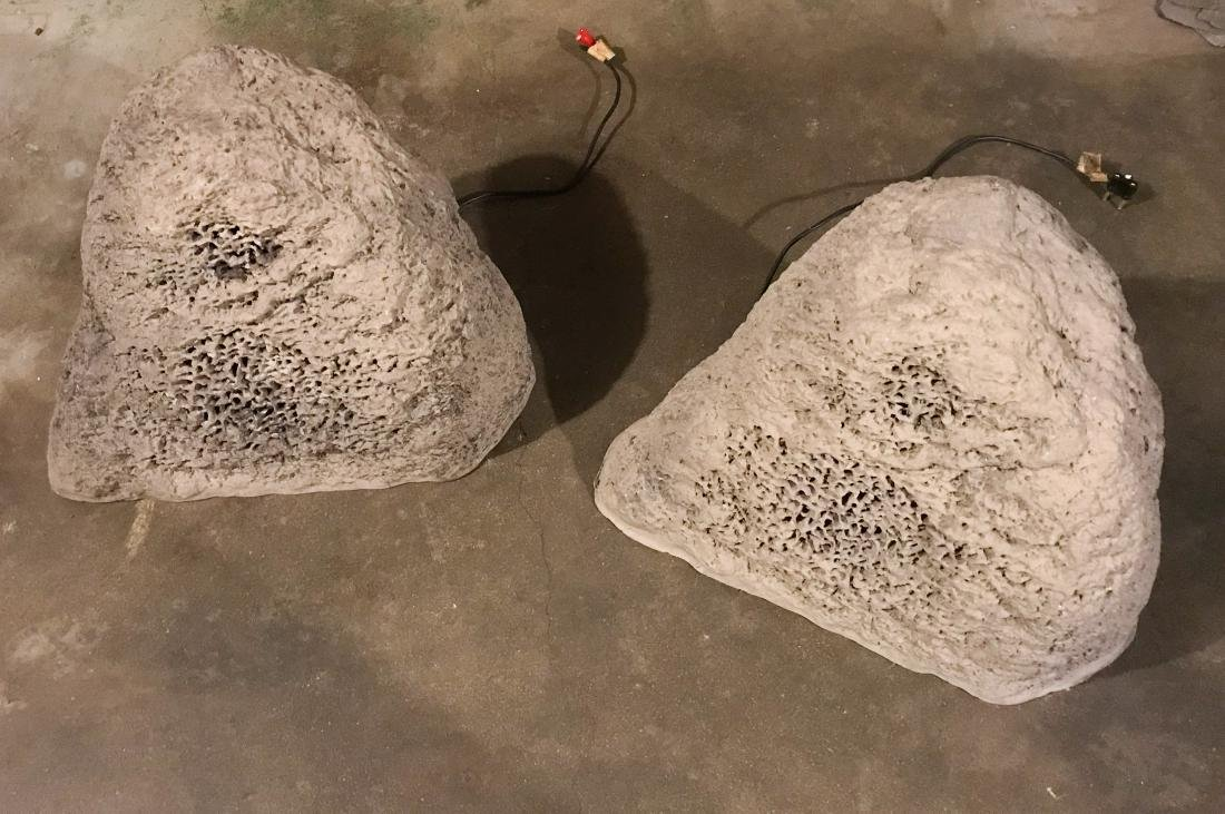 ROCKUSTICS FAUX ROCK SPEAKERS