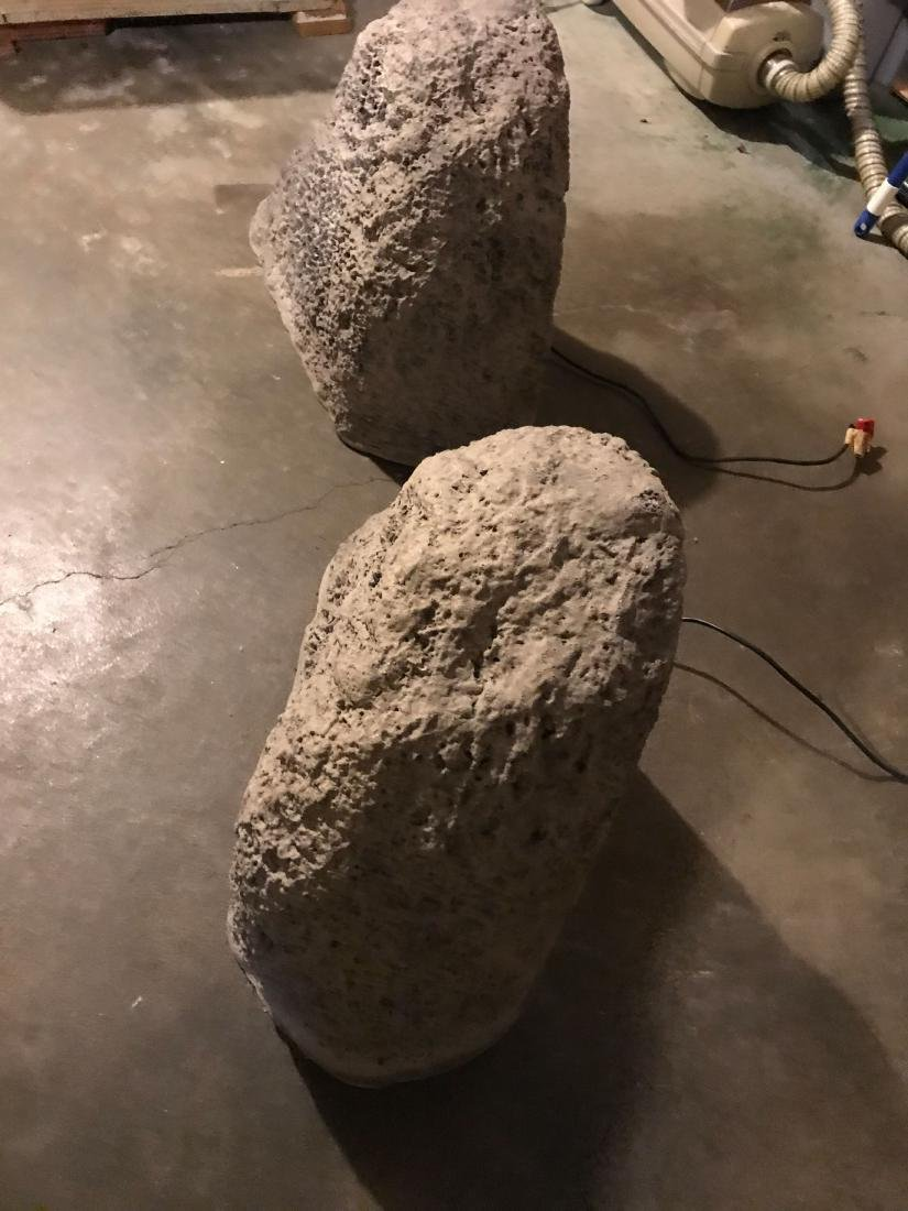 ROCKUSTICS FAUX ROCK SPEAKERS - 2