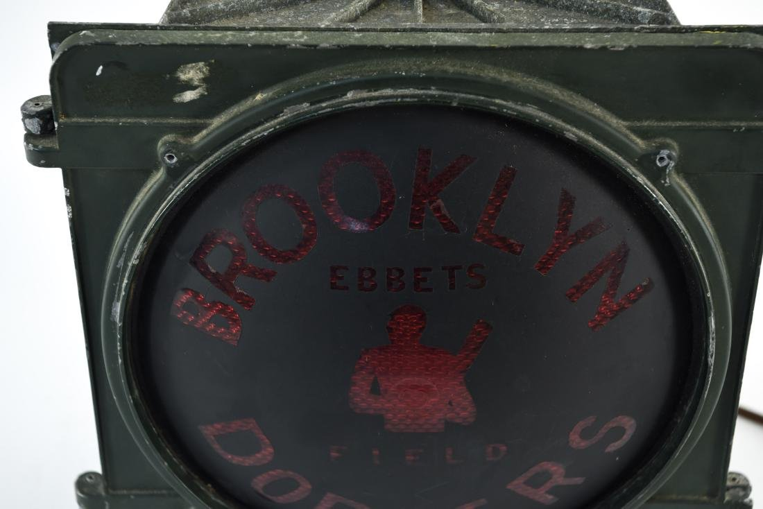BROOKLYN DODGERS LIGHT UP SIGN - 2