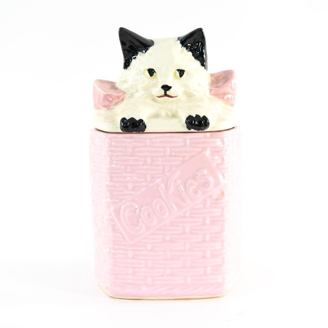 MCCOY USA CAT COOKIE JAR