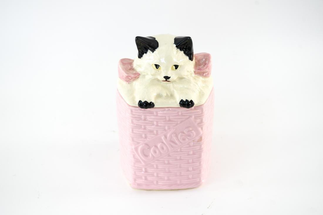 MCCOY USA CAT COOKIE JAR - 2