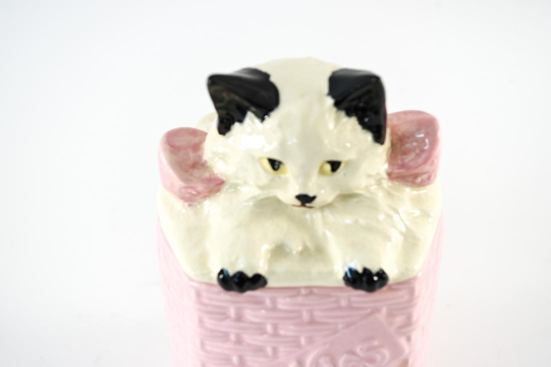 MCCOY USA CAT COOKIE JAR - 3