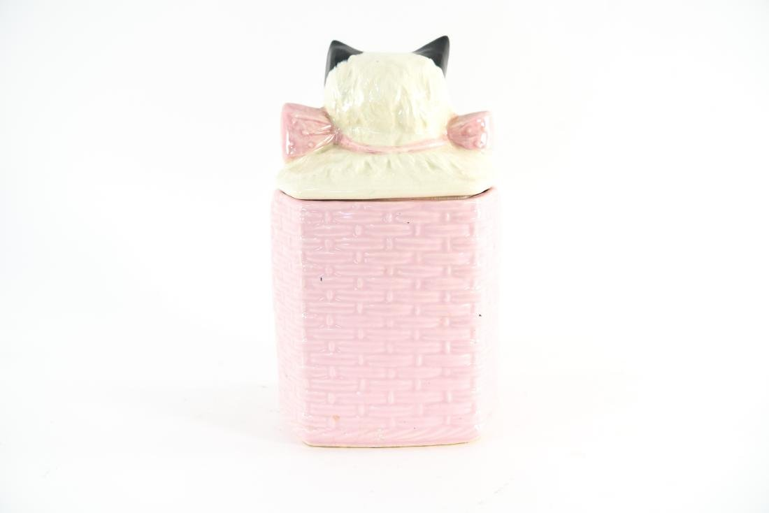 MCCOY USA CAT COOKIE JAR - 5