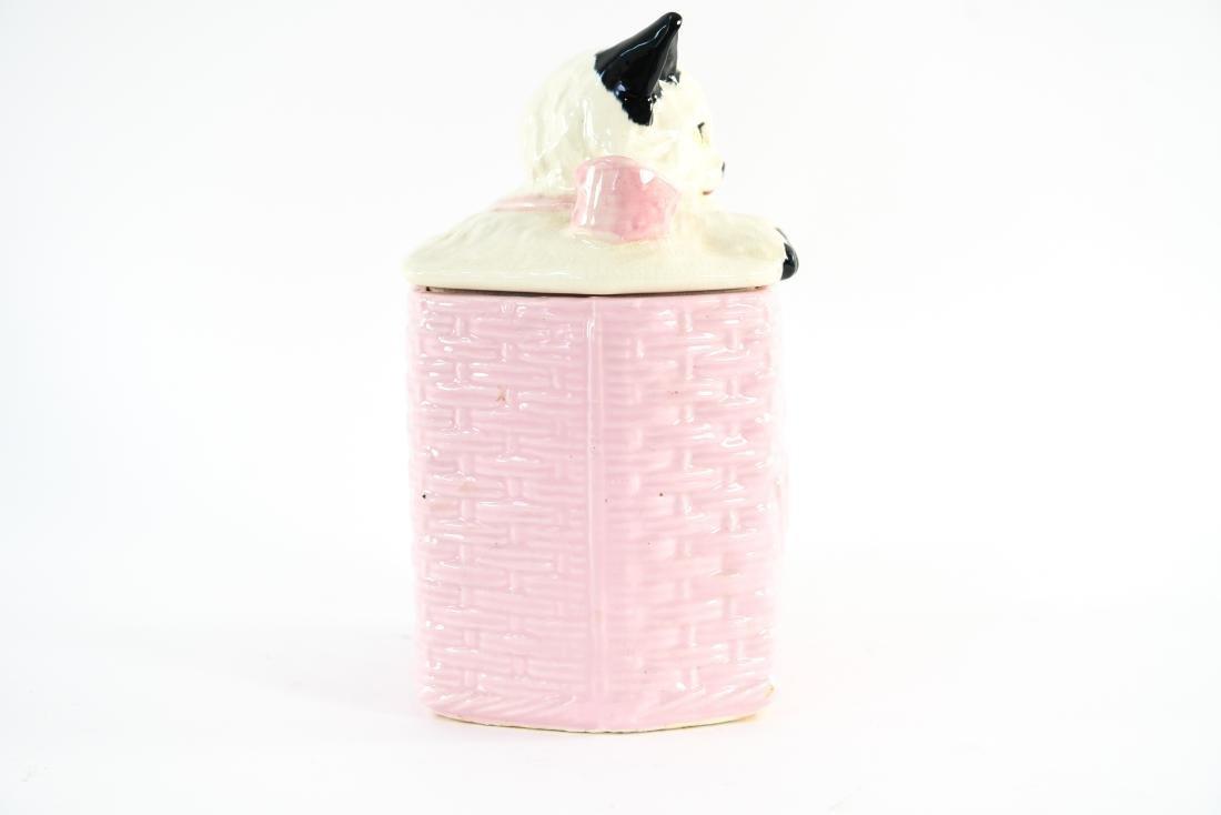 MCCOY USA CAT COOKIE JAR - 6
