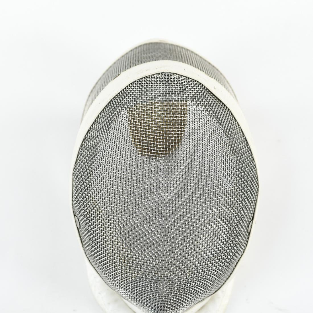 (2) FRENCH HANDLED FENCING FOILS AND MASK - 3