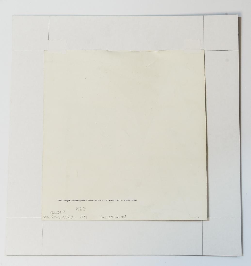 ALEXANDER CALDER ORIGINAL LITHOGRAPH - 6