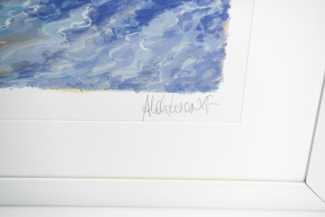 LARGE LIMITED EDITION SERIGRAPH SIGNED WONG - 4