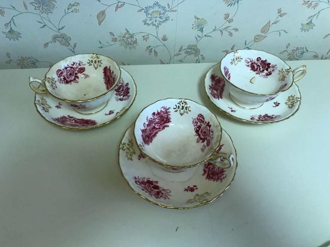 TIFFANY MINTONS PORCELAIN GROUPING