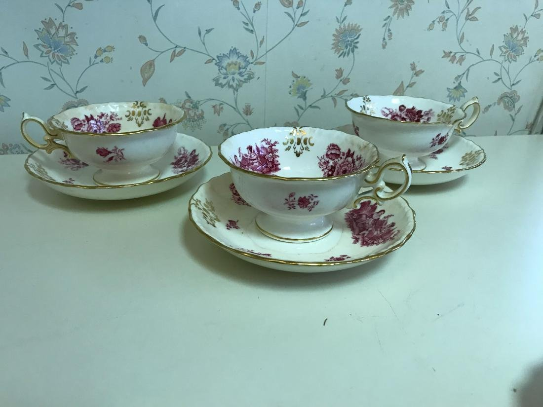 TIFFANY MINTONS PORCELAIN GROUPING - 2