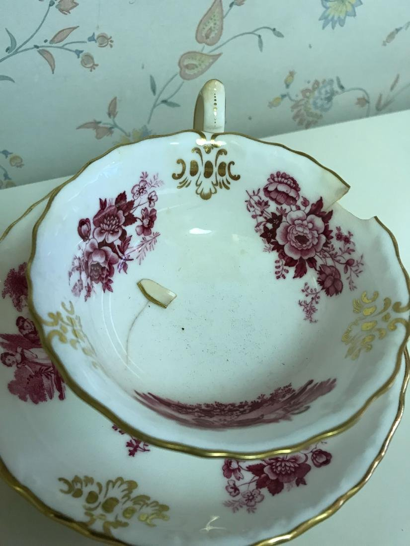TIFFANY MINTONS PORCELAIN GROUPING - 4