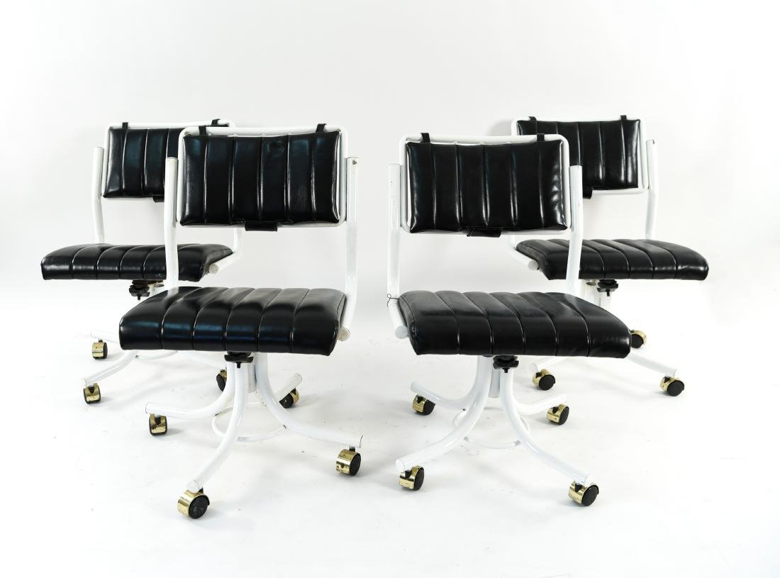(4) PRECISION FURNITURE INC. ROLLING CHAIRS