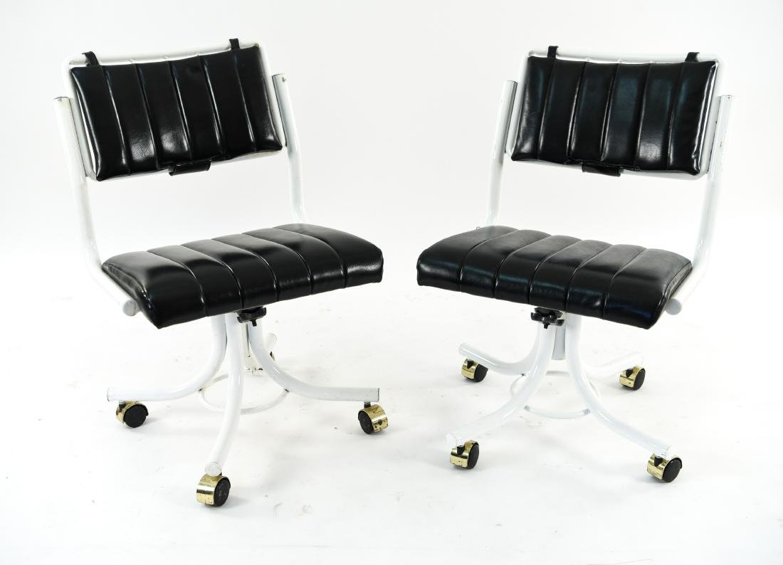 (4) PRECISION FURNITURE INC. ROLLING CHAIRS - 8