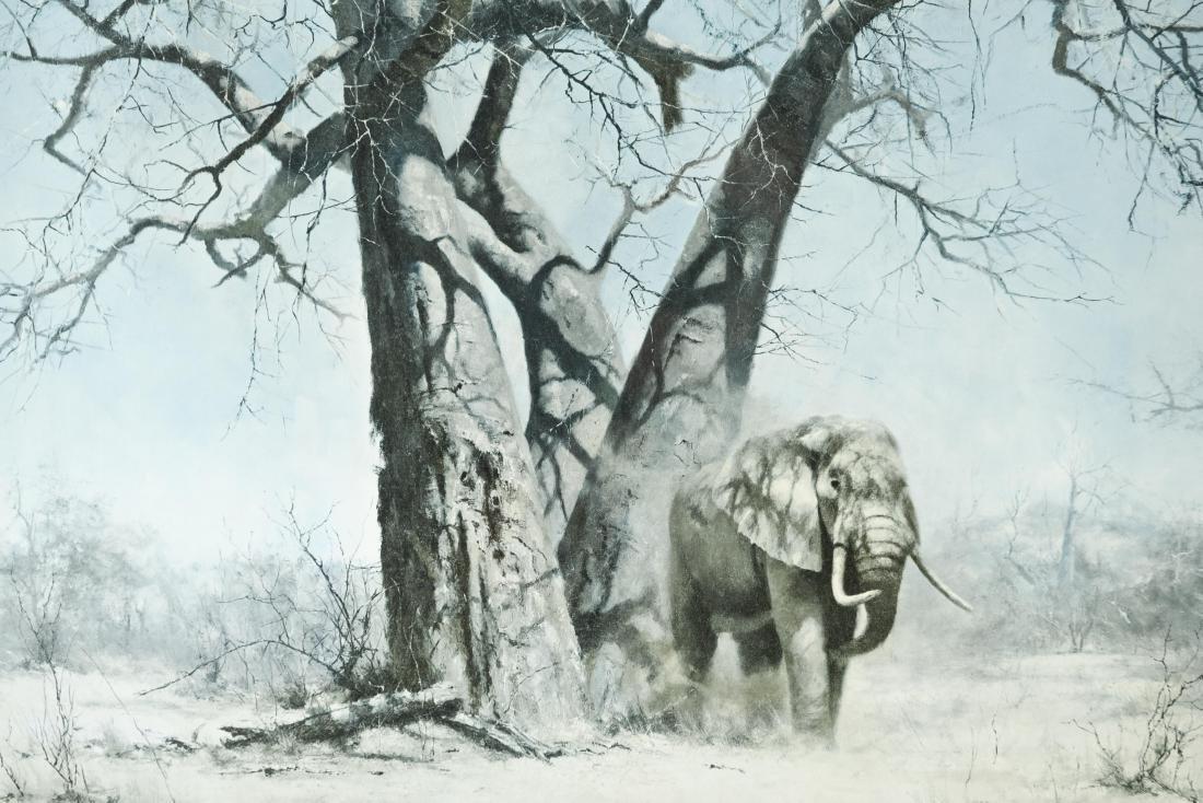 PHOTO PRINT OF ELEPHANTS - 2