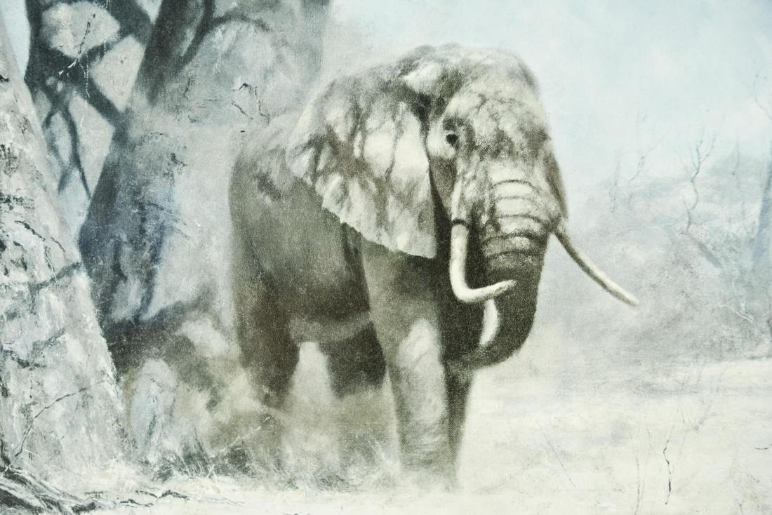 PHOTO PRINT OF ELEPHANTS - 3