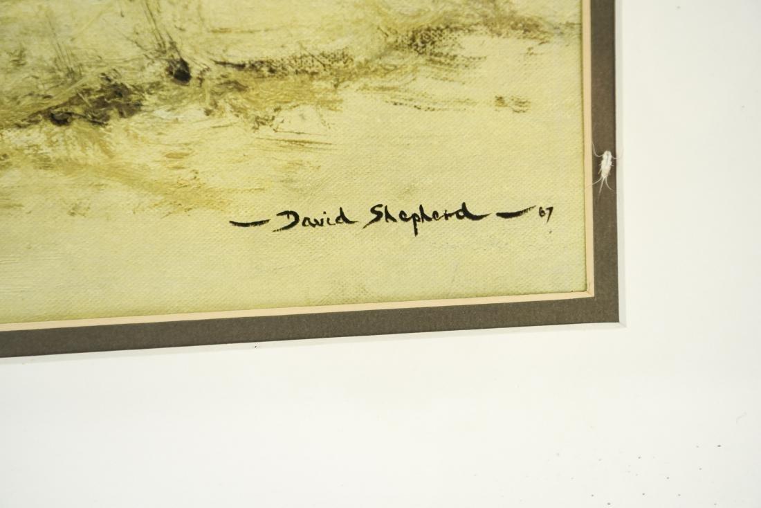 DAVID SHEPARD PRINT OF ZEBRAS - 3