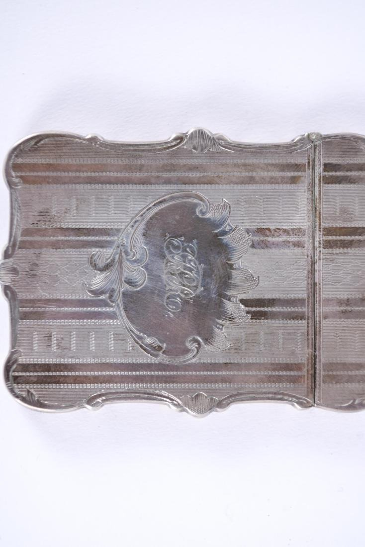 STERLING SILVER CARD CASE - 2