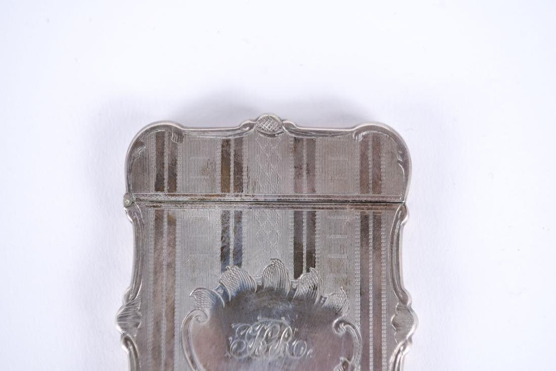 STERLING SILVER CARD CASE - 3
