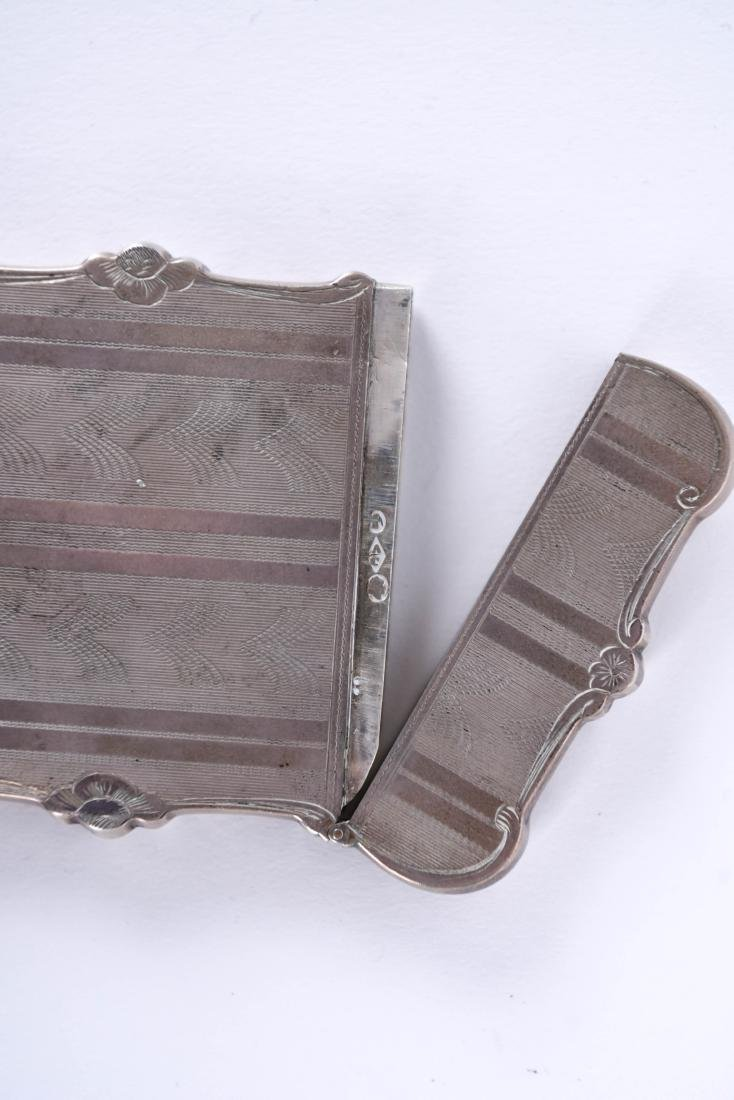 STERLING SILVER CARD CASE - 6