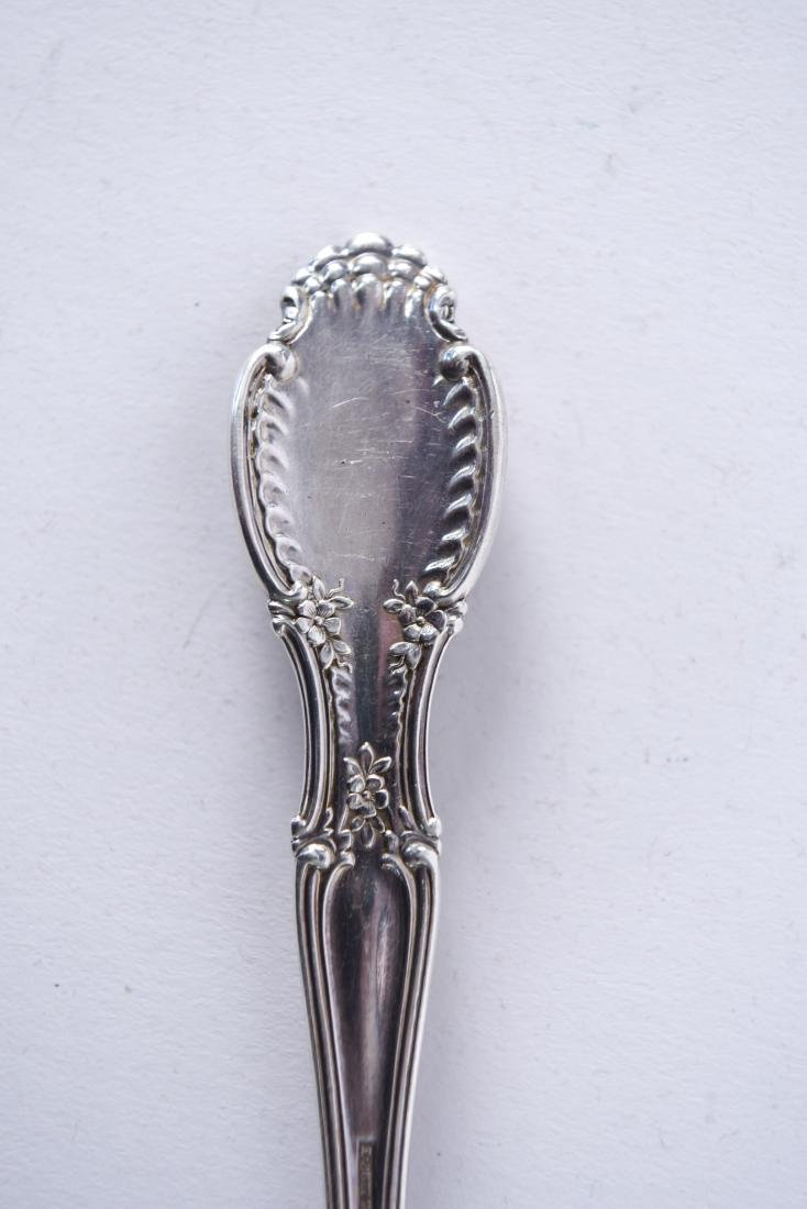TIFFANY & CO. STERLING SILVER SHELL SERVING SPOON - 8
