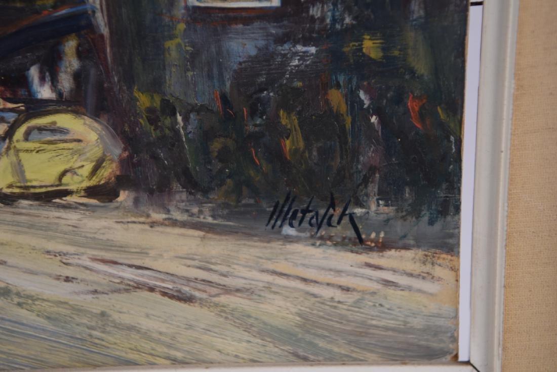 MID-CENTURY OIL ON BOARD OF BERLIN - 6