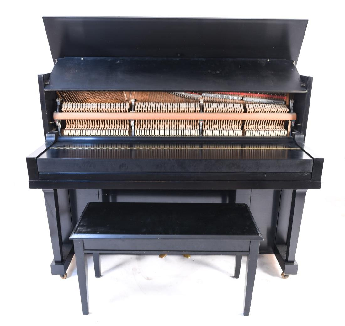 STEINWAY & SONS UPRIGHT PIANO - 14