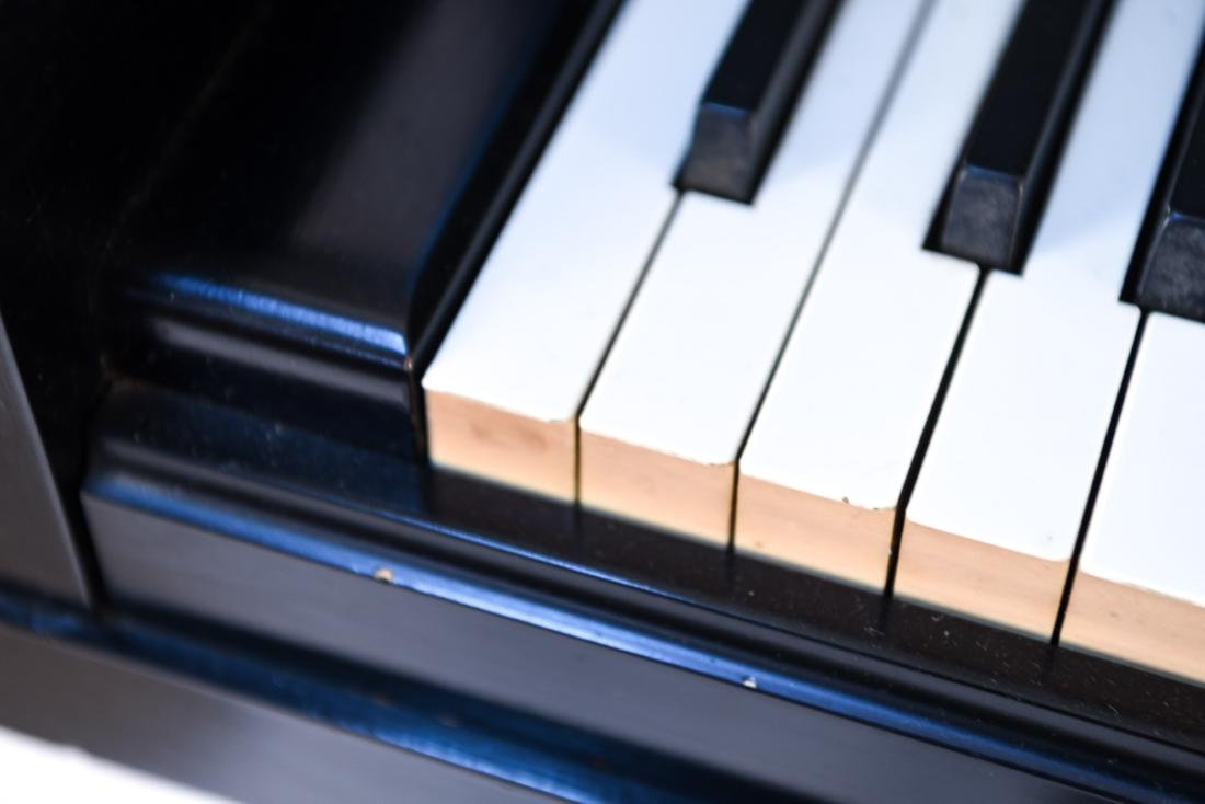 STEINWAY & SONS UPRIGHT PIANO - 5