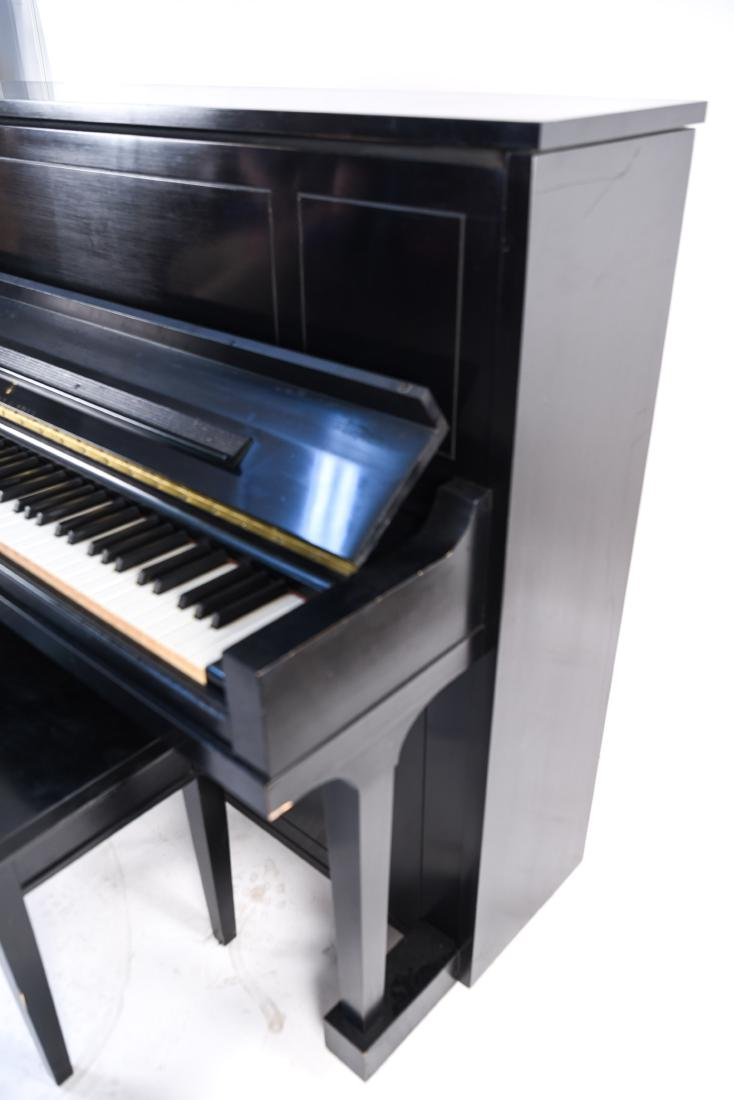 STEINWAY & SONS UPRIGHT PIANO - 8