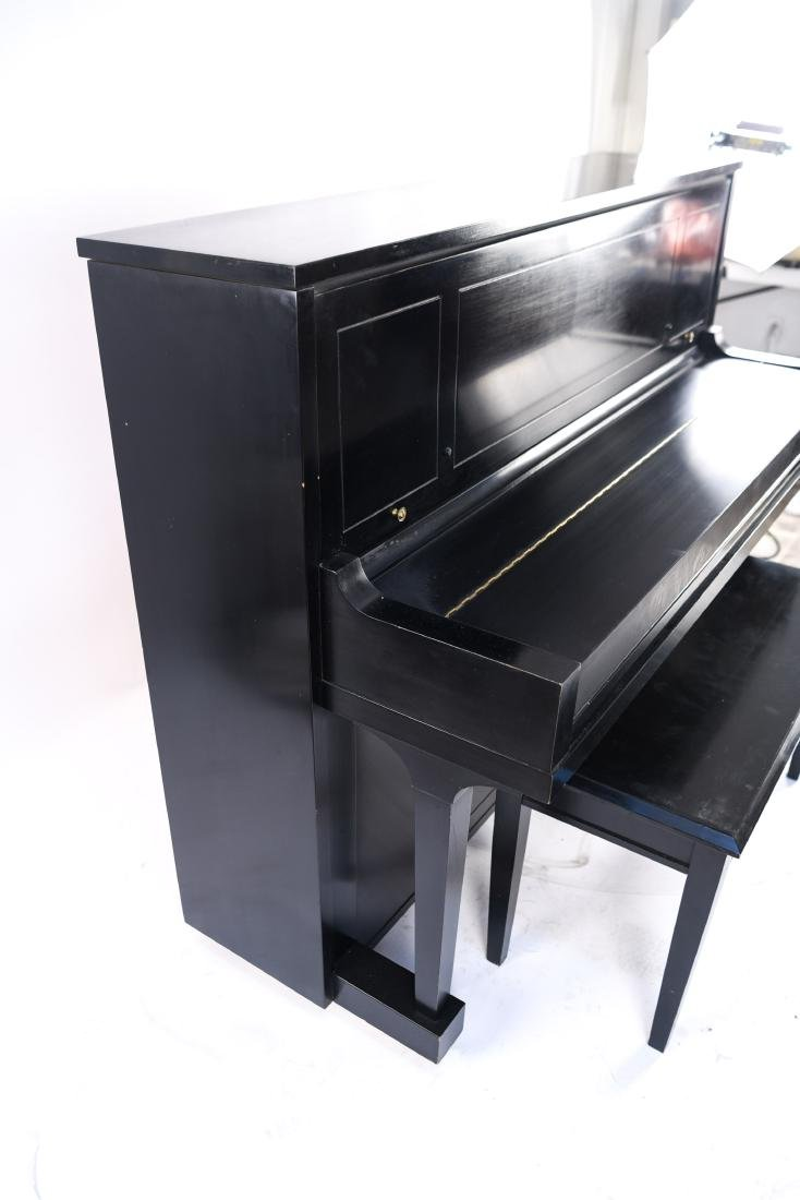 STEINWAY & SONS UPRIGHT PIANO - 9