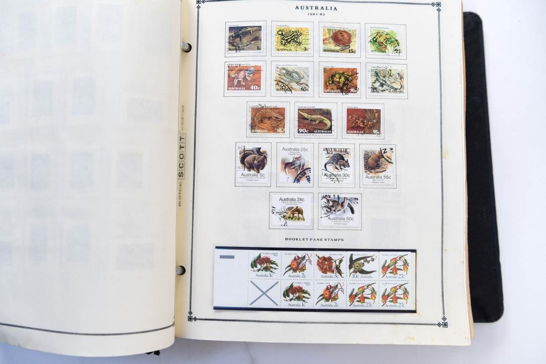 LARGE STAMP COLLECTION - 4