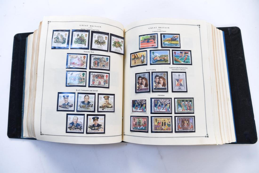 LARGE STAMP COLLECTION - 6