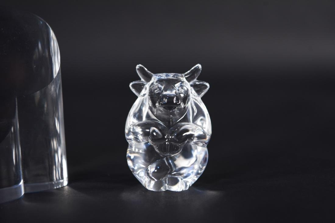 GROUPING OF STEUBEN GLASS - 3