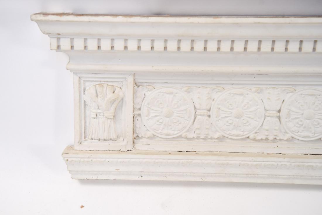 WOODEN ARCHITECTURAL FRIEZE ELEMENT - 2