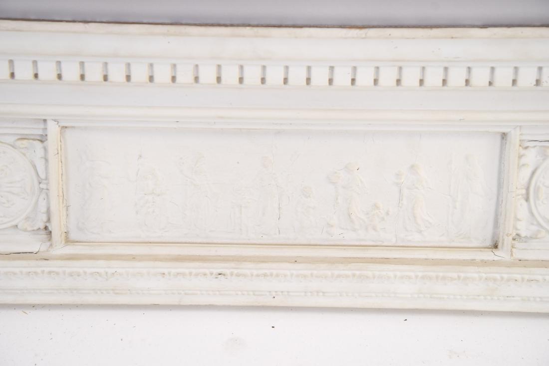 WOODEN ARCHITECTURAL FRIEZE ELEMENT - 3