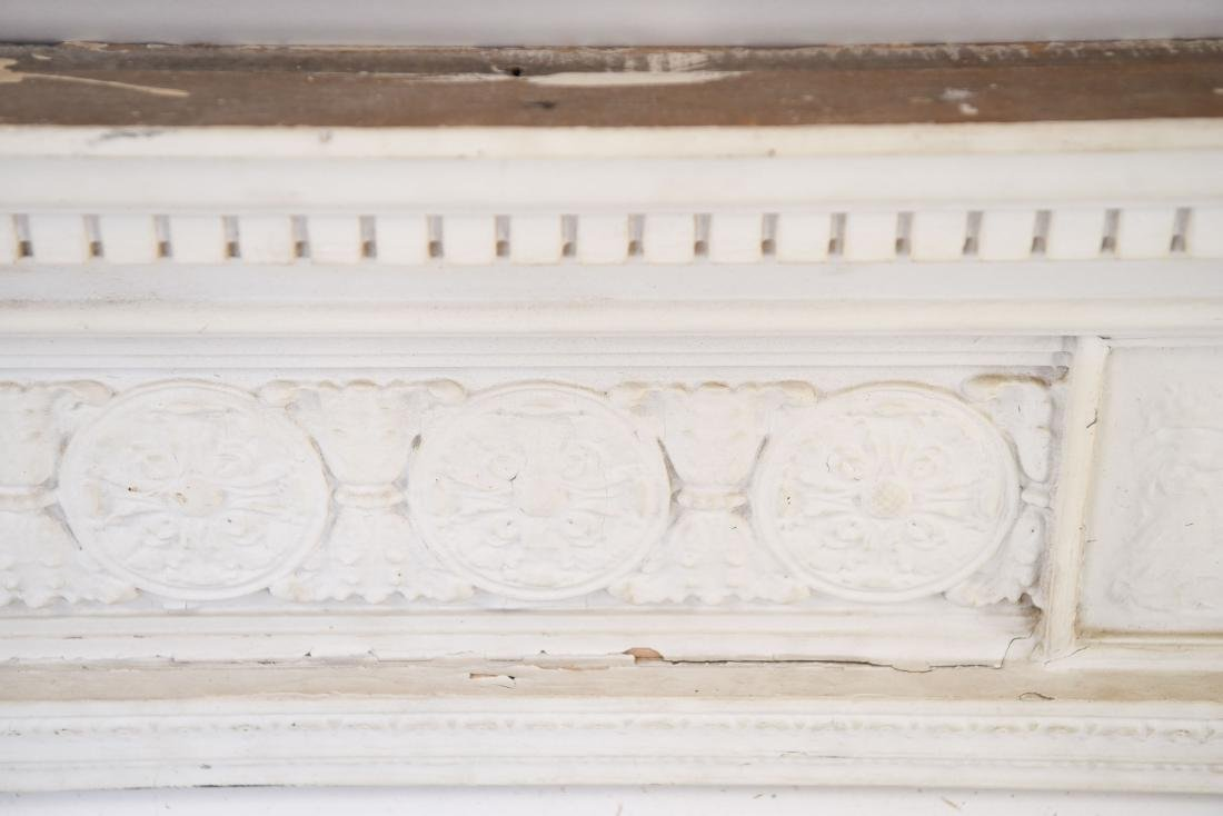 WOODEN ARCHITECTURAL FRIEZE ELEMENT - 4