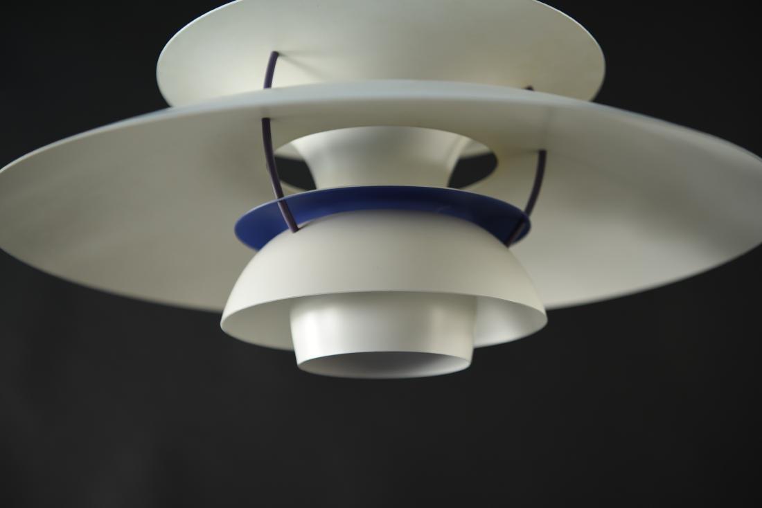 LOUIS POULSEN WHITE PH5 PENDANT LAMP - 2