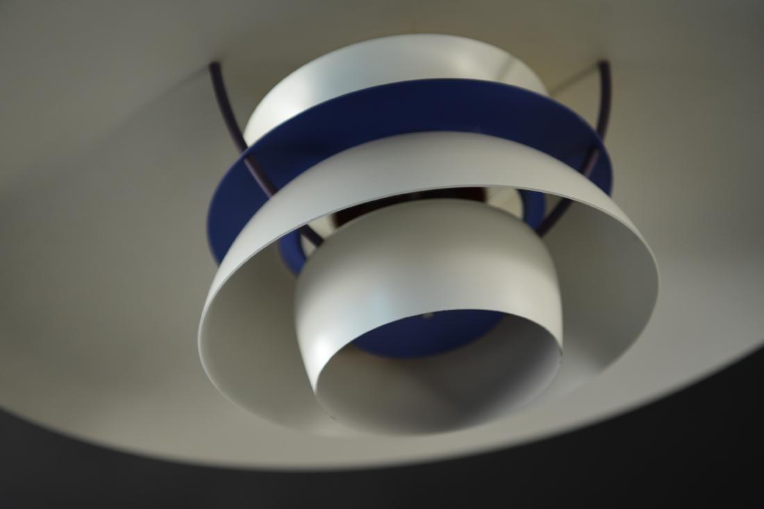 LOUIS POULSEN WHITE PH5 PENDANT LAMP - 4