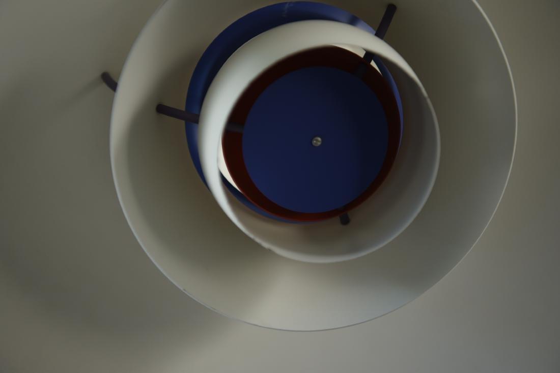 LOUIS POULSEN WHITE PH5 PENDANT LAMP - 5
