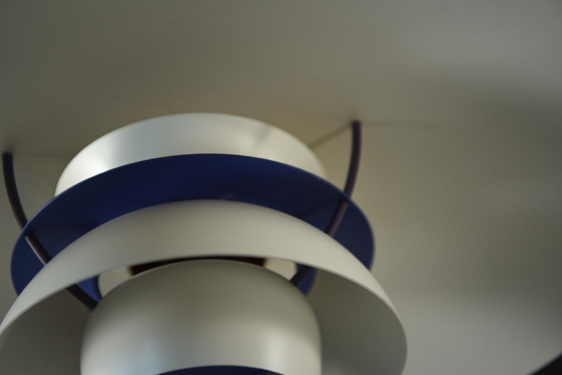 LOUIS POULSEN WHITE PH5 PENDANT LAMP - 6