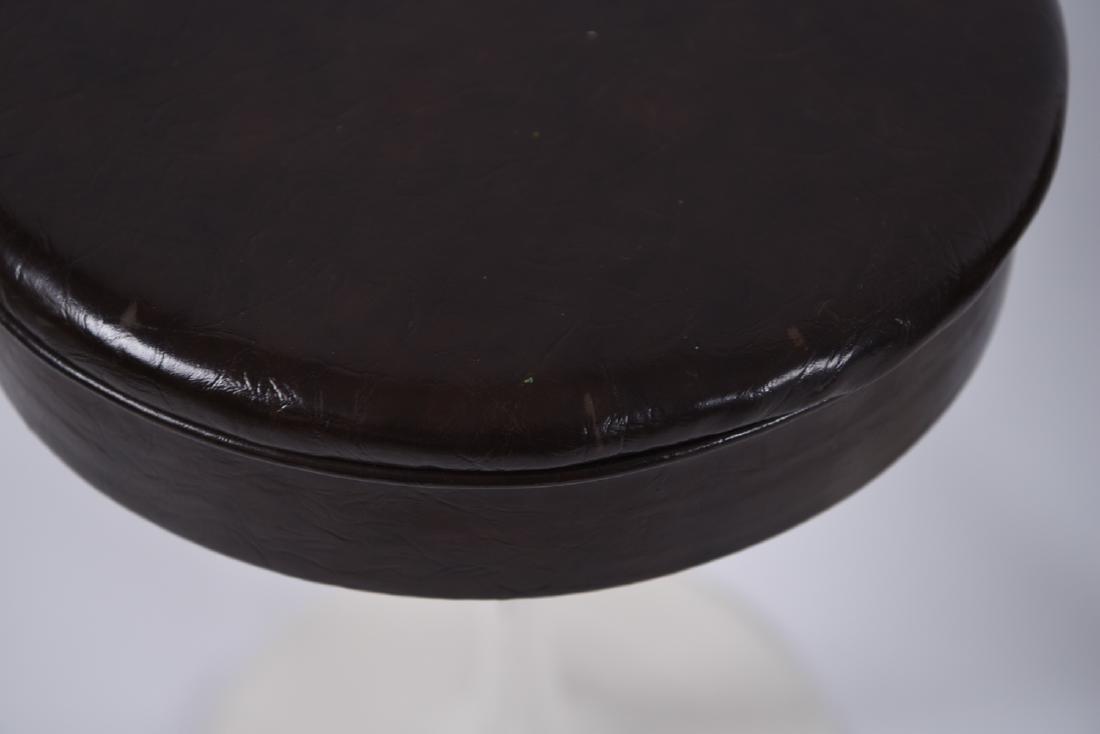 (4) SAARINEN STYLE TULIP STOOLS - 3