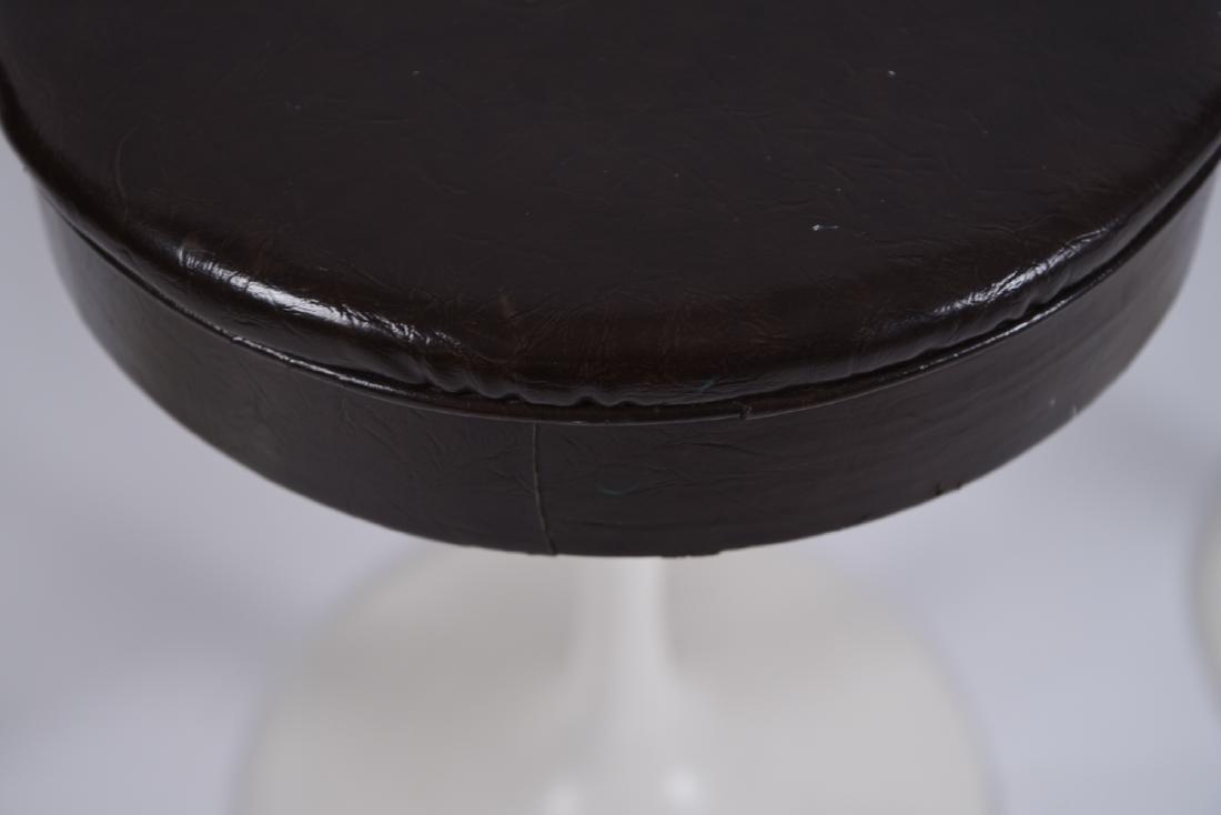 (4) SAARINEN STYLE TULIP STOOLS - 4