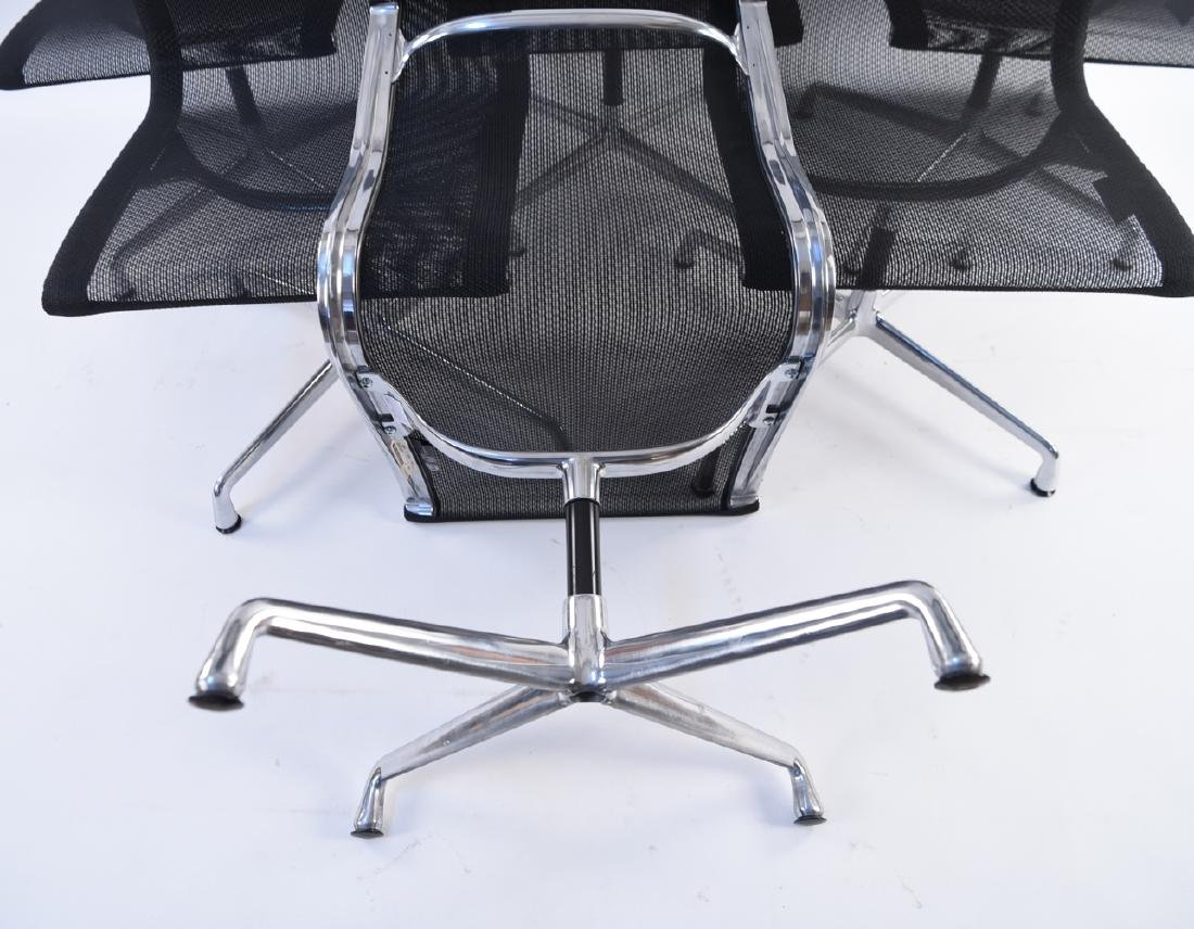 (6) HERMAN MILLER EAMES MESH CHAIRS - 10