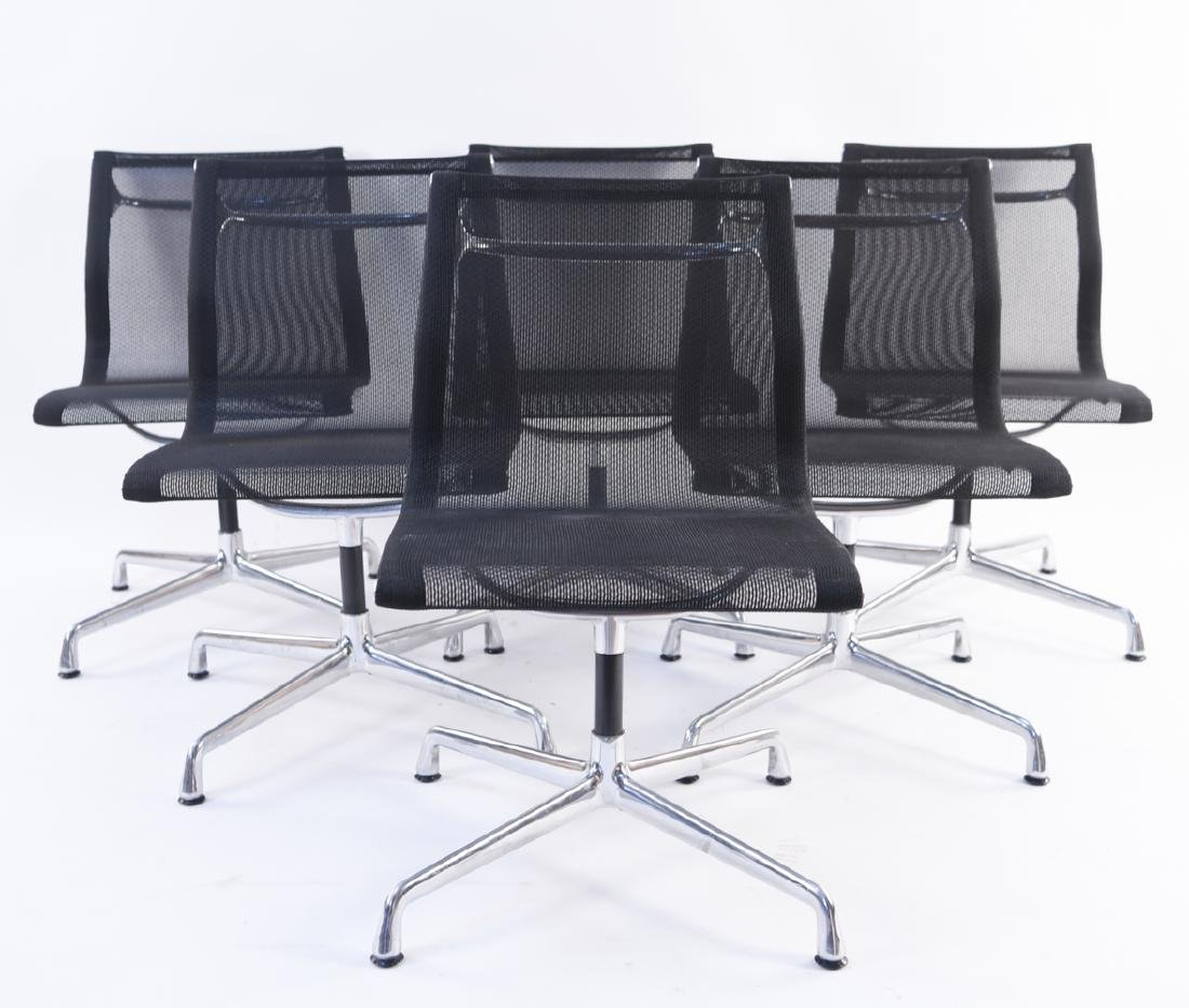 (6) HERMAN MILLER EAMES MESH CHAIRS