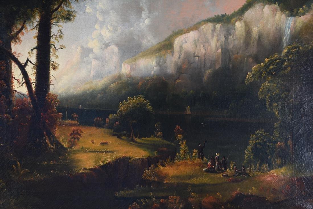 JOHN RUBENS SMITH (1775 - 1849) HUGE LANDSCAPE - 2