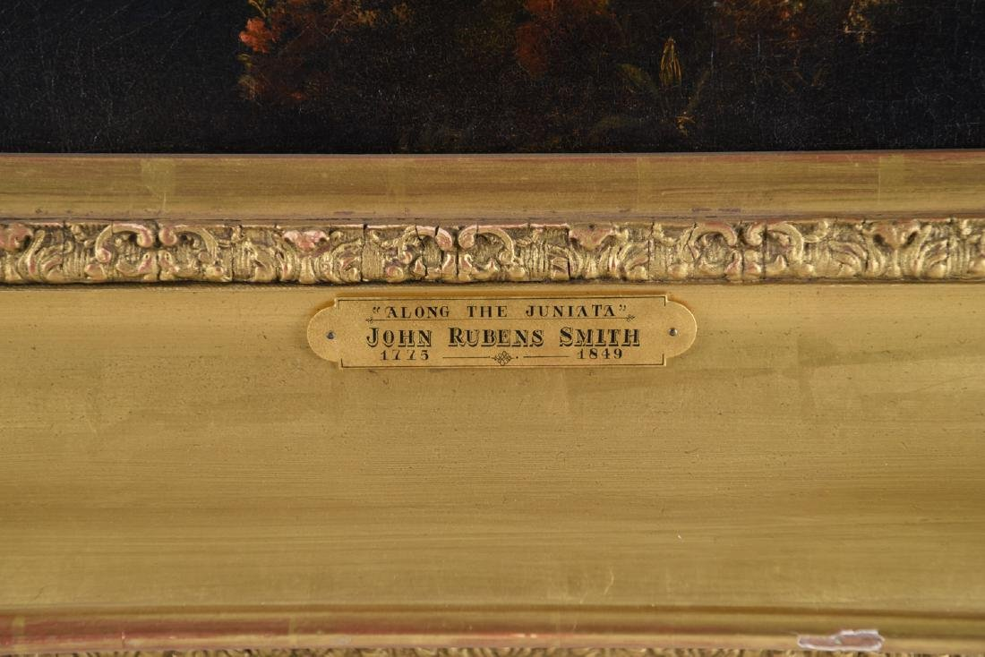 JOHN RUBENS SMITH (1775 - 1849) HUGE LANDSCAPE - 3