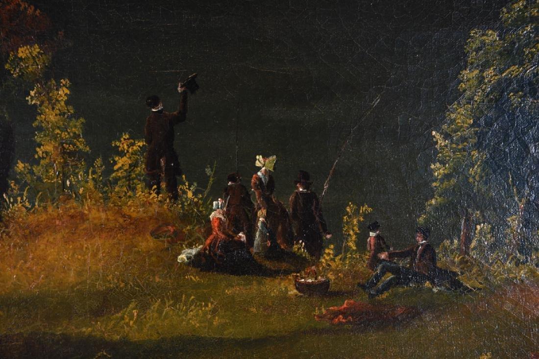 JOHN RUBENS SMITH (1775 - 1849) HUGE LANDSCAPE - 6