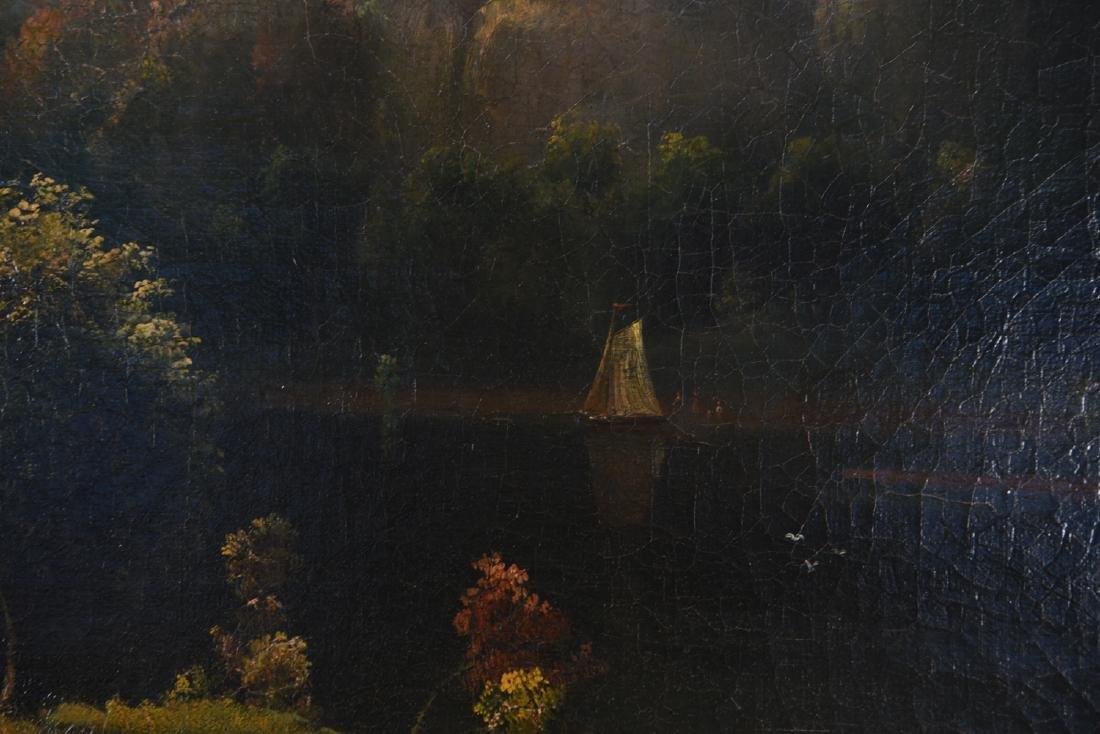 JOHN RUBENS SMITH (1775 - 1849) HUGE LANDSCAPE - 7