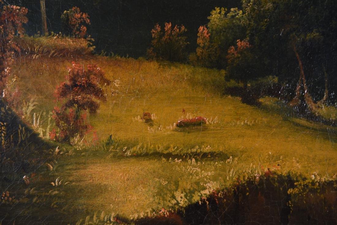 JOHN RUBENS SMITH (1775 - 1849) HUGE LANDSCAPE - 8